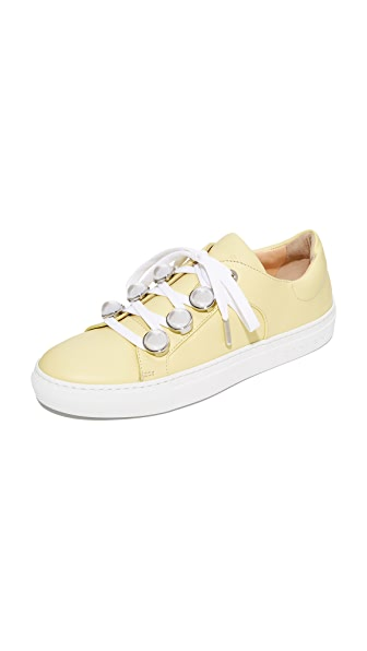 Carven Lace Up Sneakers - Jaune