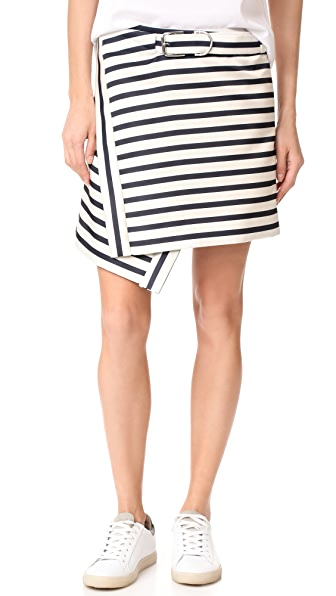 Carven Striped Skirt