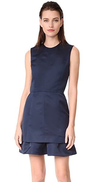 Carven Satin Dress