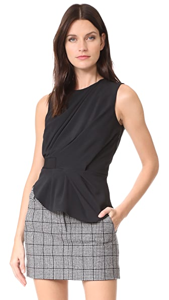 Carven Sleeveless Top - Noir