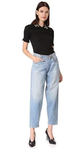 Carven Short Sleeve Pullover