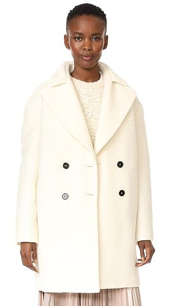 Carven Coat - Blanc