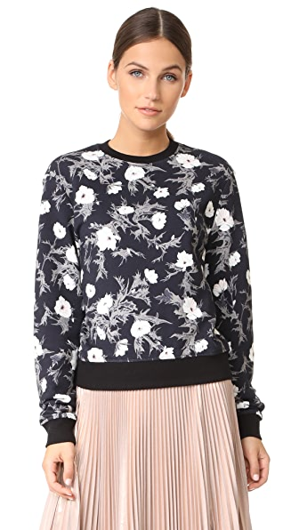 Carven Long Sleeve Sweatshirt - Noir
