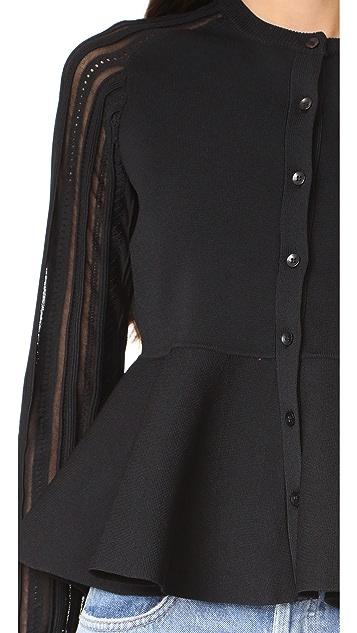 Carven Long Sleeve Cardigan