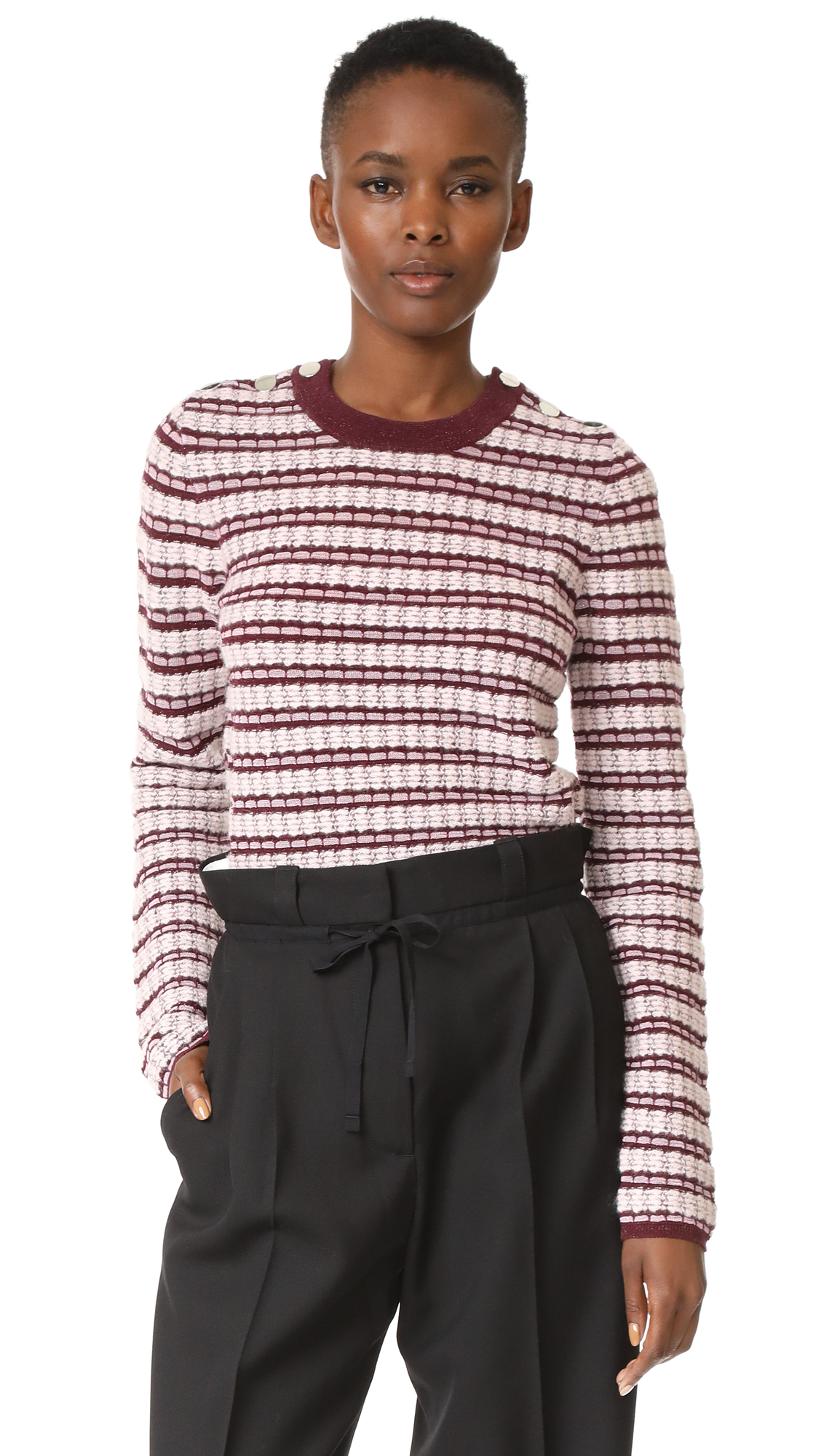Carven Long Sleeve Pullover