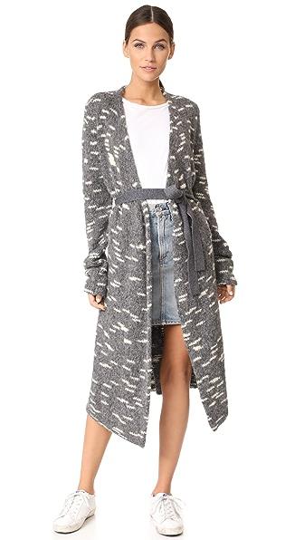 Carven Long Sleeve Cardigan at Shopbop