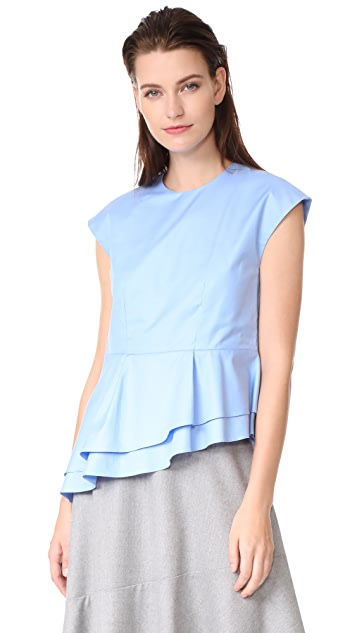 Carven Short Sleeve Top