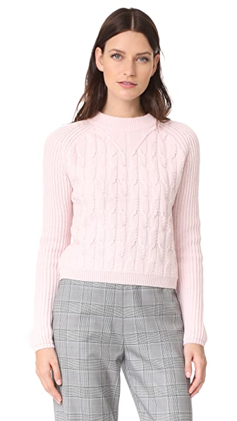 Carven Long Sleeve Sweater at Shopbop