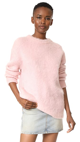 Carven Long Sleeve Pullover - Rose Pale