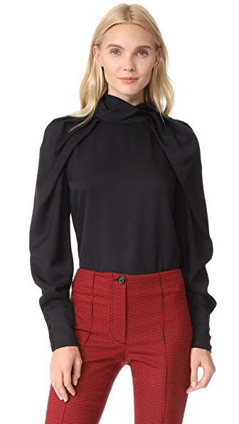 Carven Draped Top