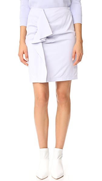 Carven Deconstructed Skirt - Glacier