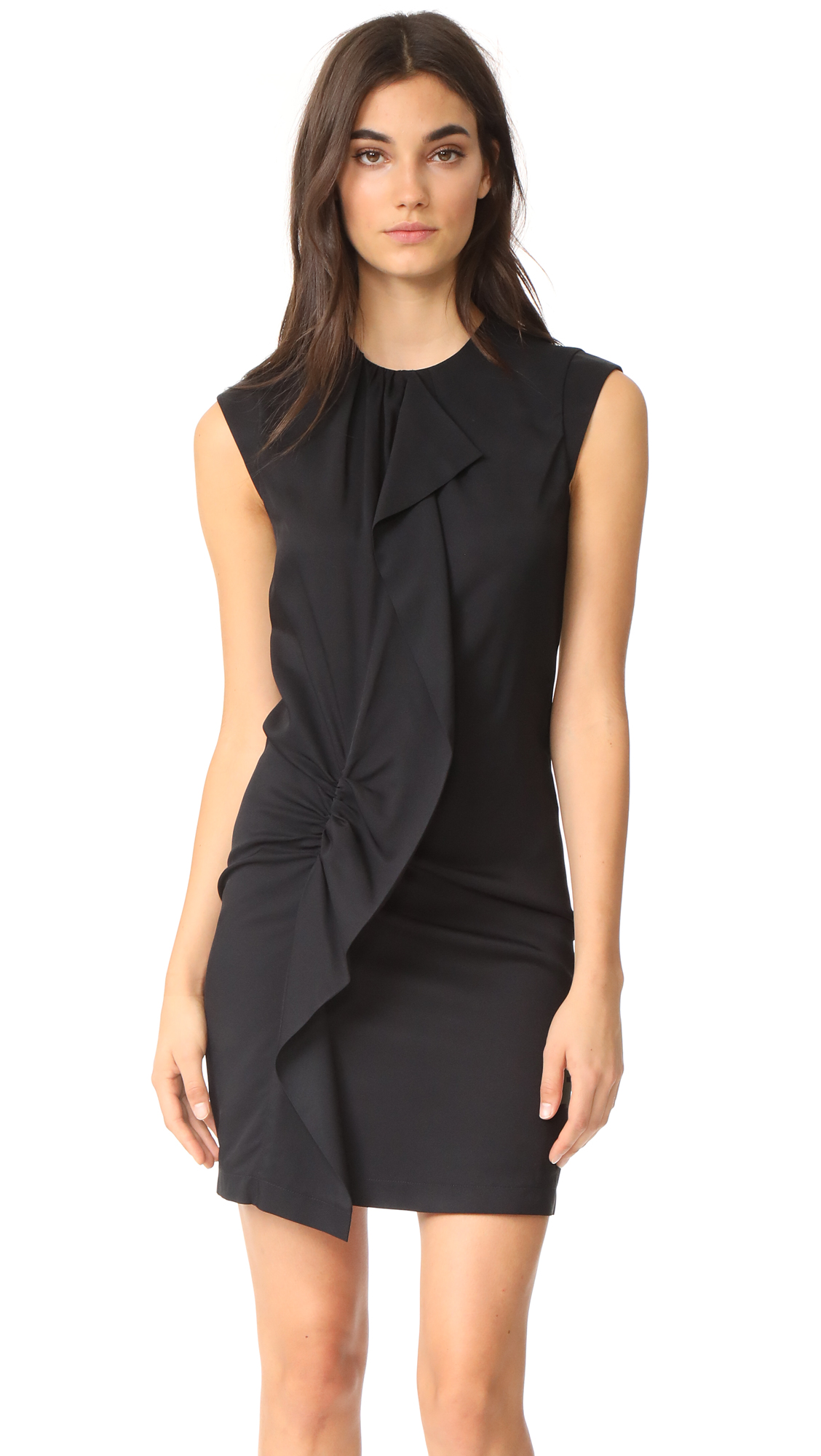 Carven Ruffle Dress