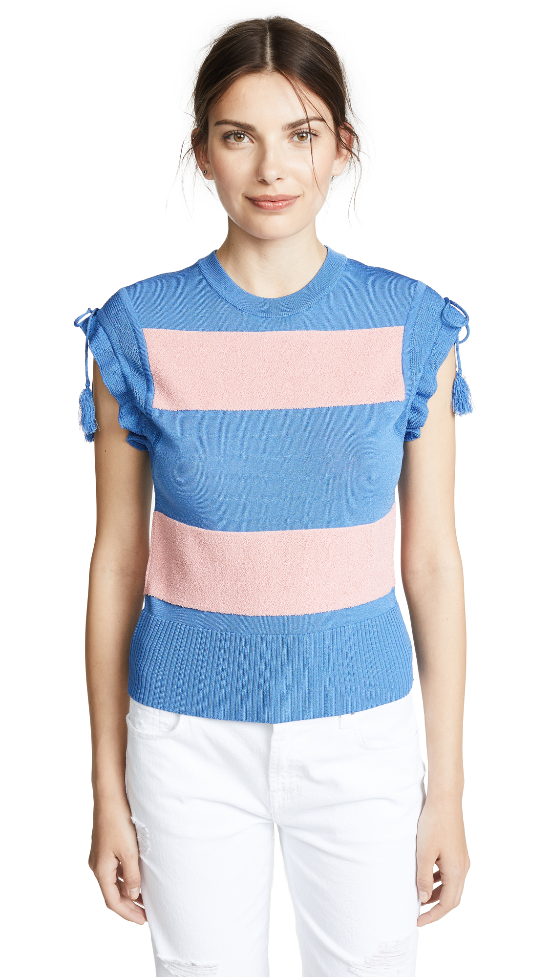 Carven Rugby Top with Tassels