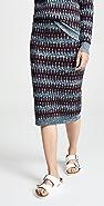 Carven 图案元素中长半身裙