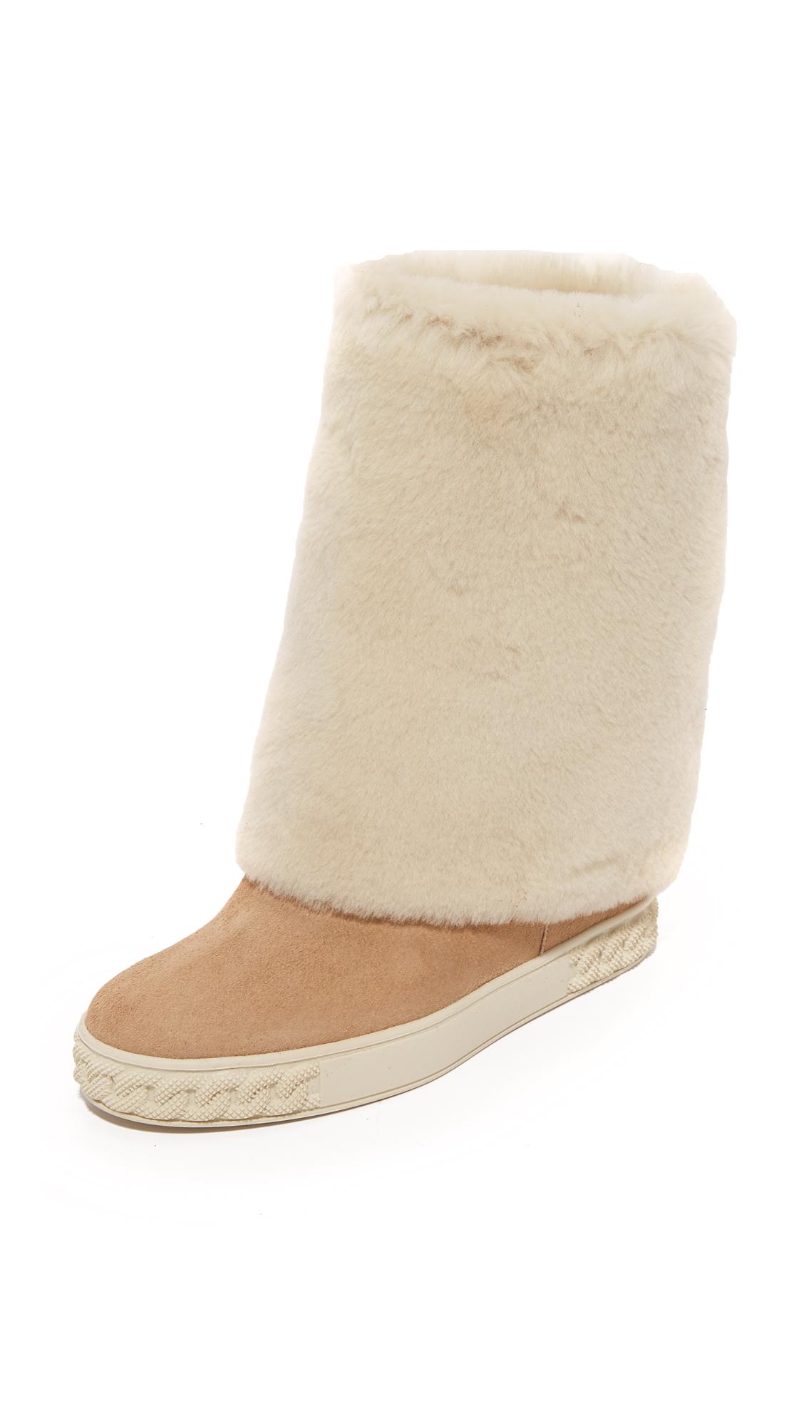 Casadei Suede Boots - Oasis