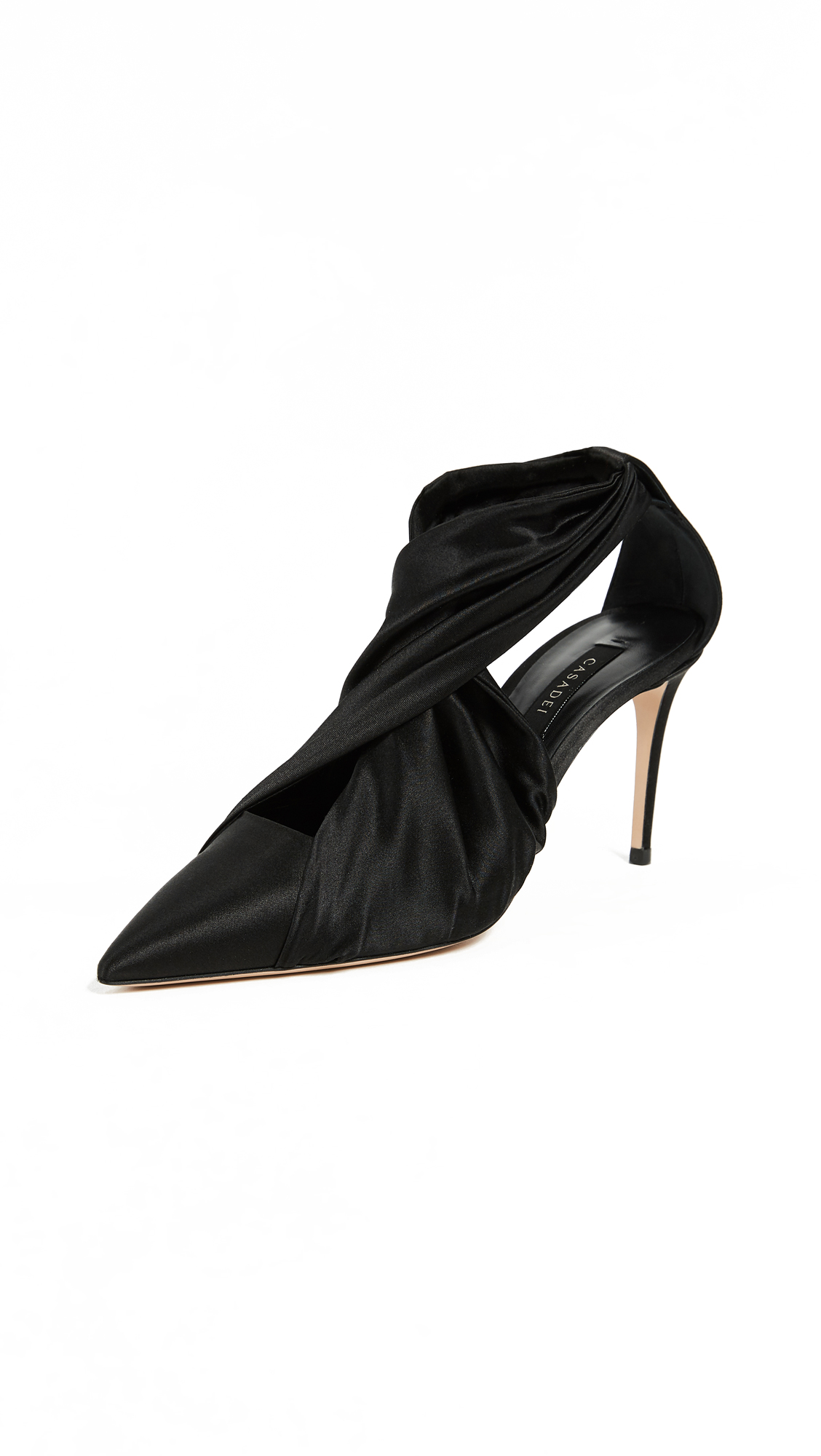 Casadei Sophia 80mm Pumps - Nero