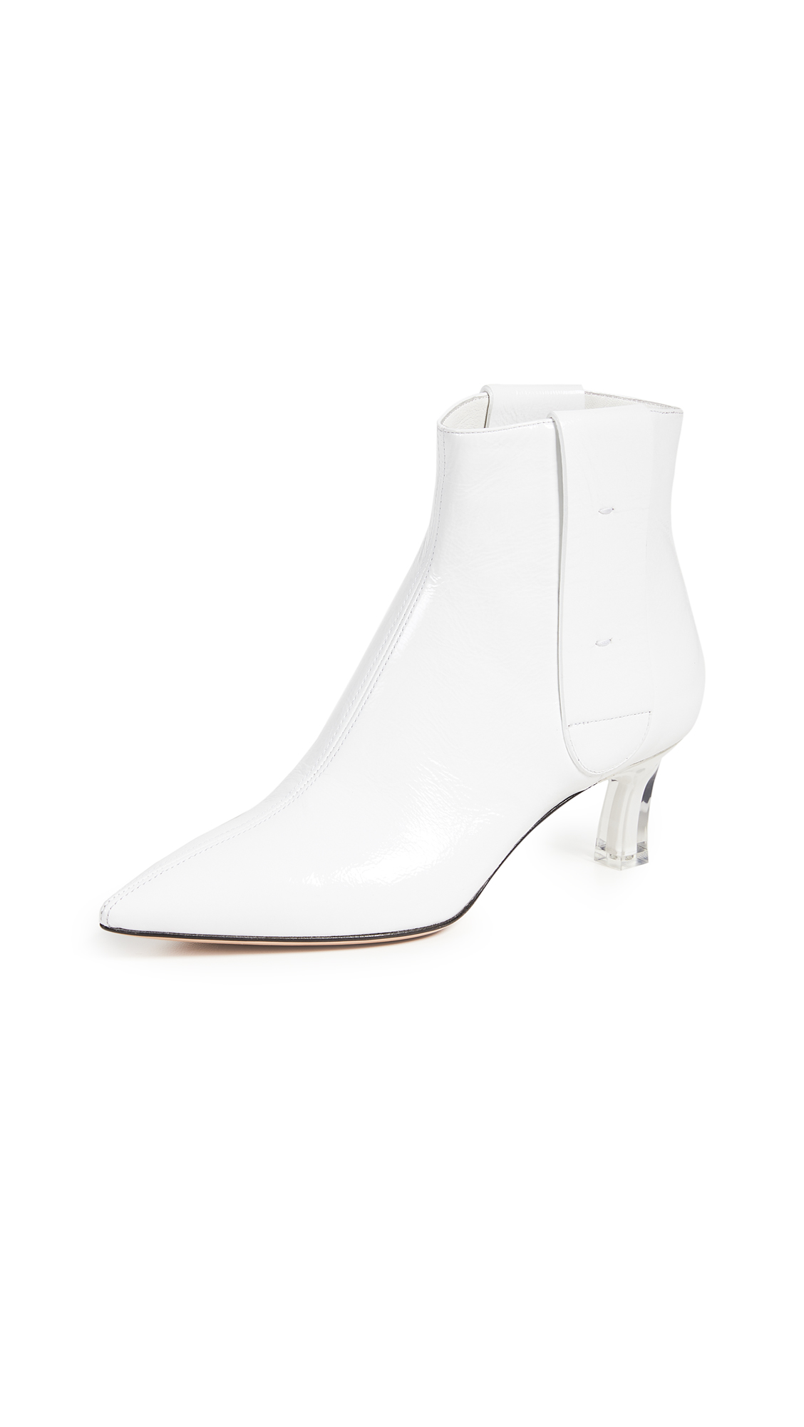 Casadei Chelsea Ankle Boots - Bianco