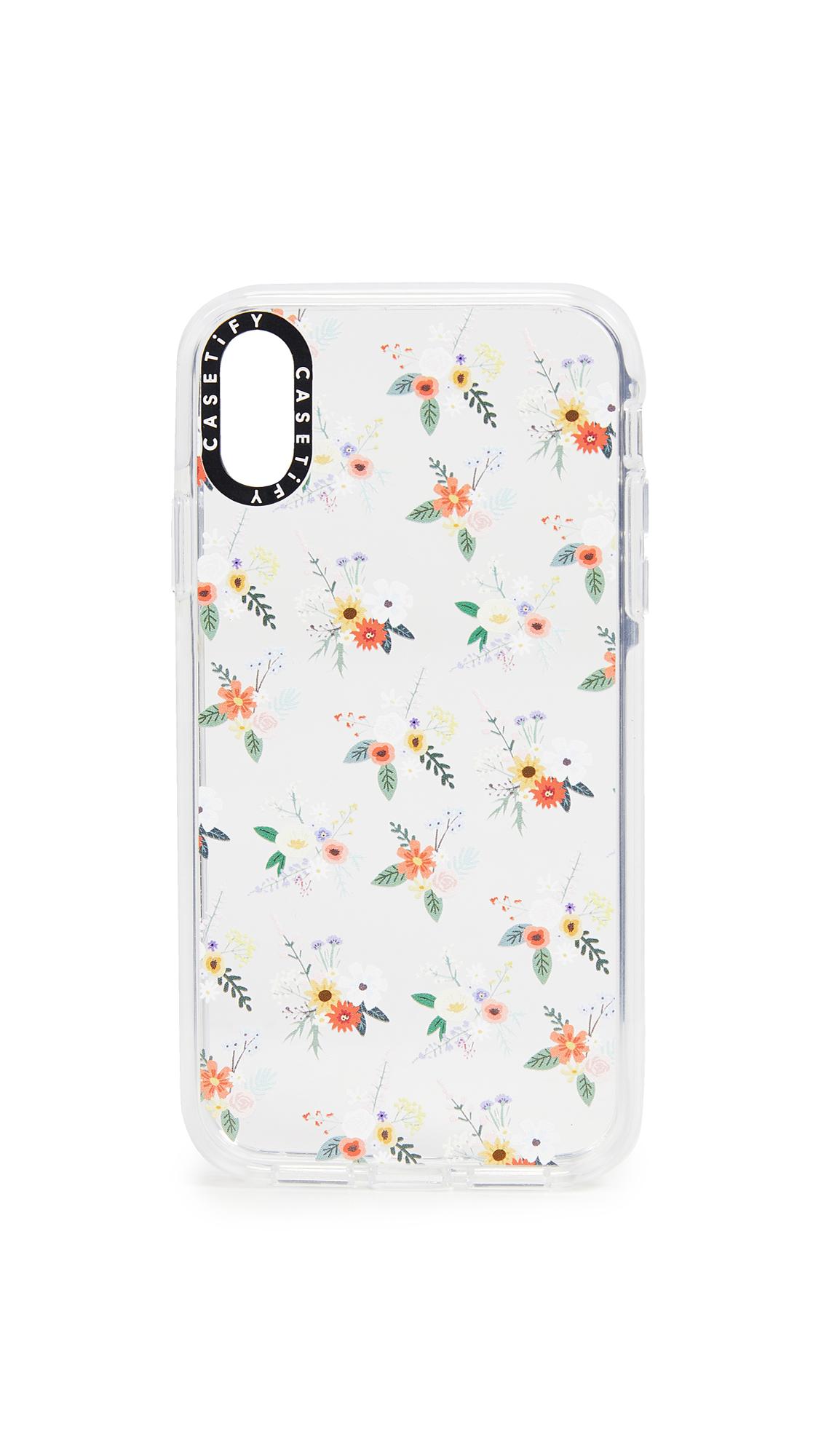 CASETIFY Soft Floral Allie Alpine Iphone Xr Case in Multi