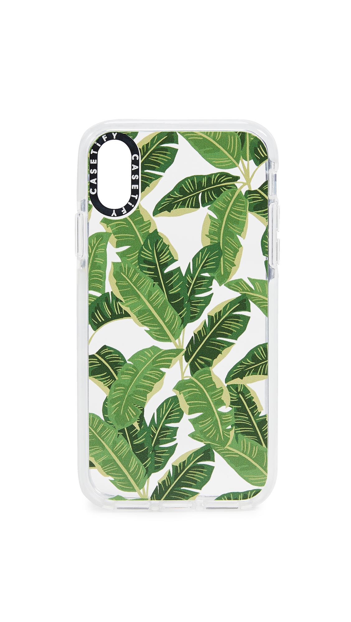 CASETIFY Jungle Leaves Iphone X / Xs Case in Multi