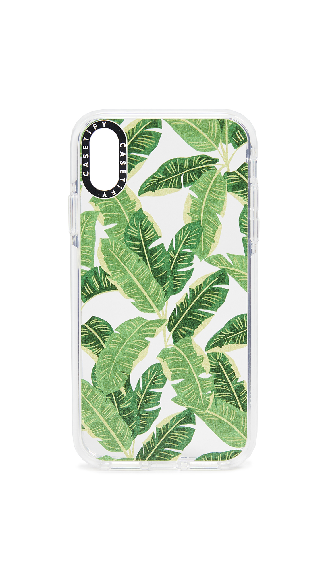 Casetify Jungle Leaves iPhone XR Case