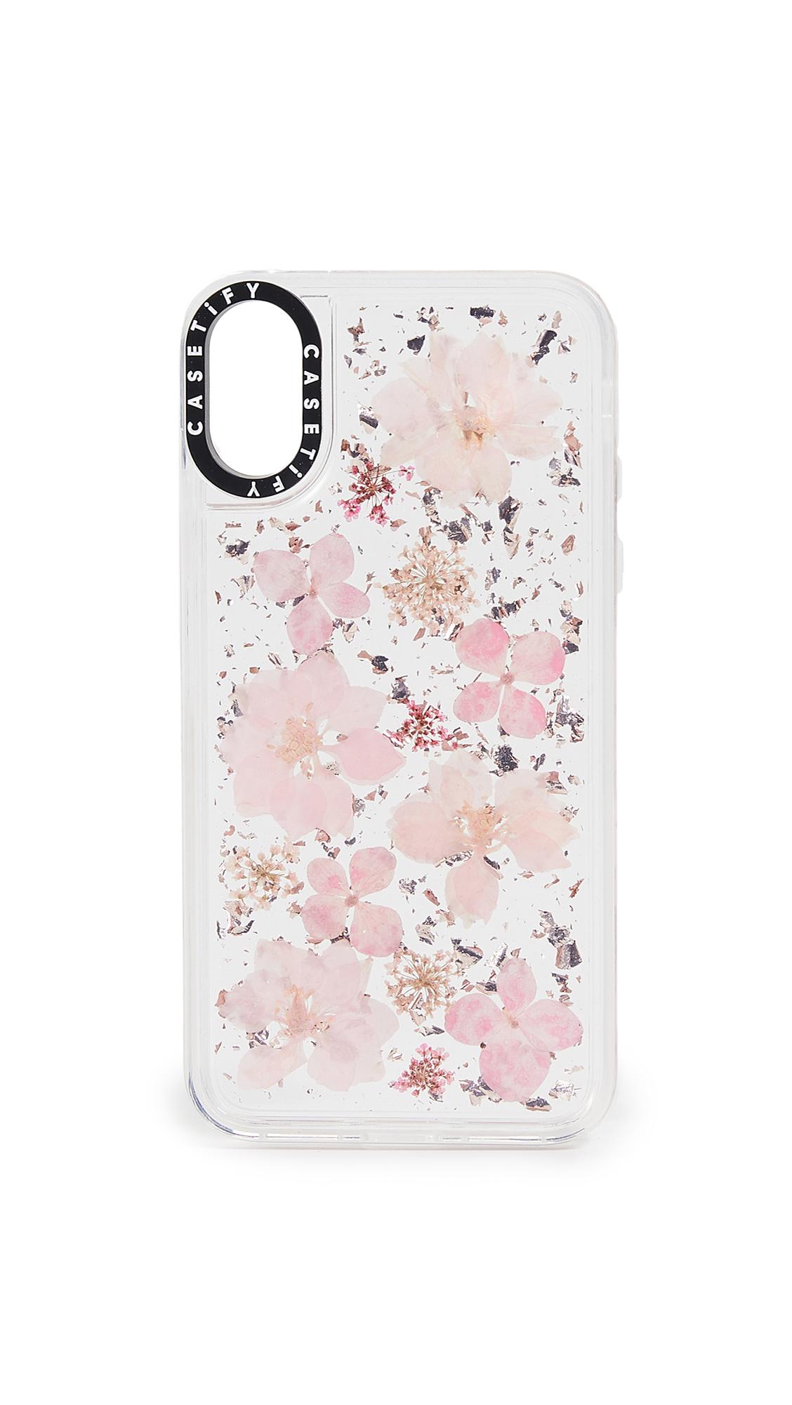 CASETIFY Pressed Flower Sakura Iphone X / Xs Case in Multi