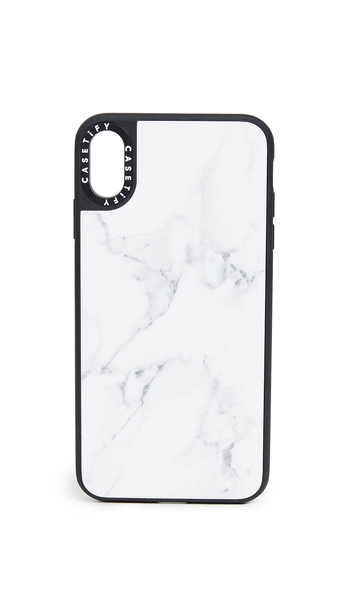 CASETIFY Marble Iphone Xs Max Case in White Marble