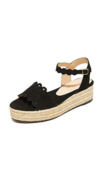 Castaner Ana Wedge Flatforms - Black
