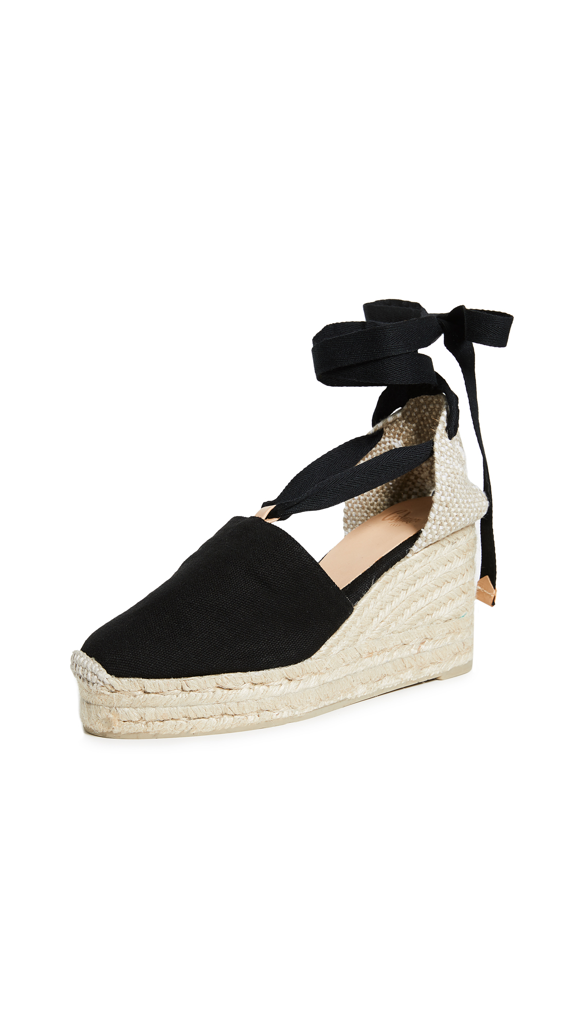 Castaner Campesina Wedges - Black
