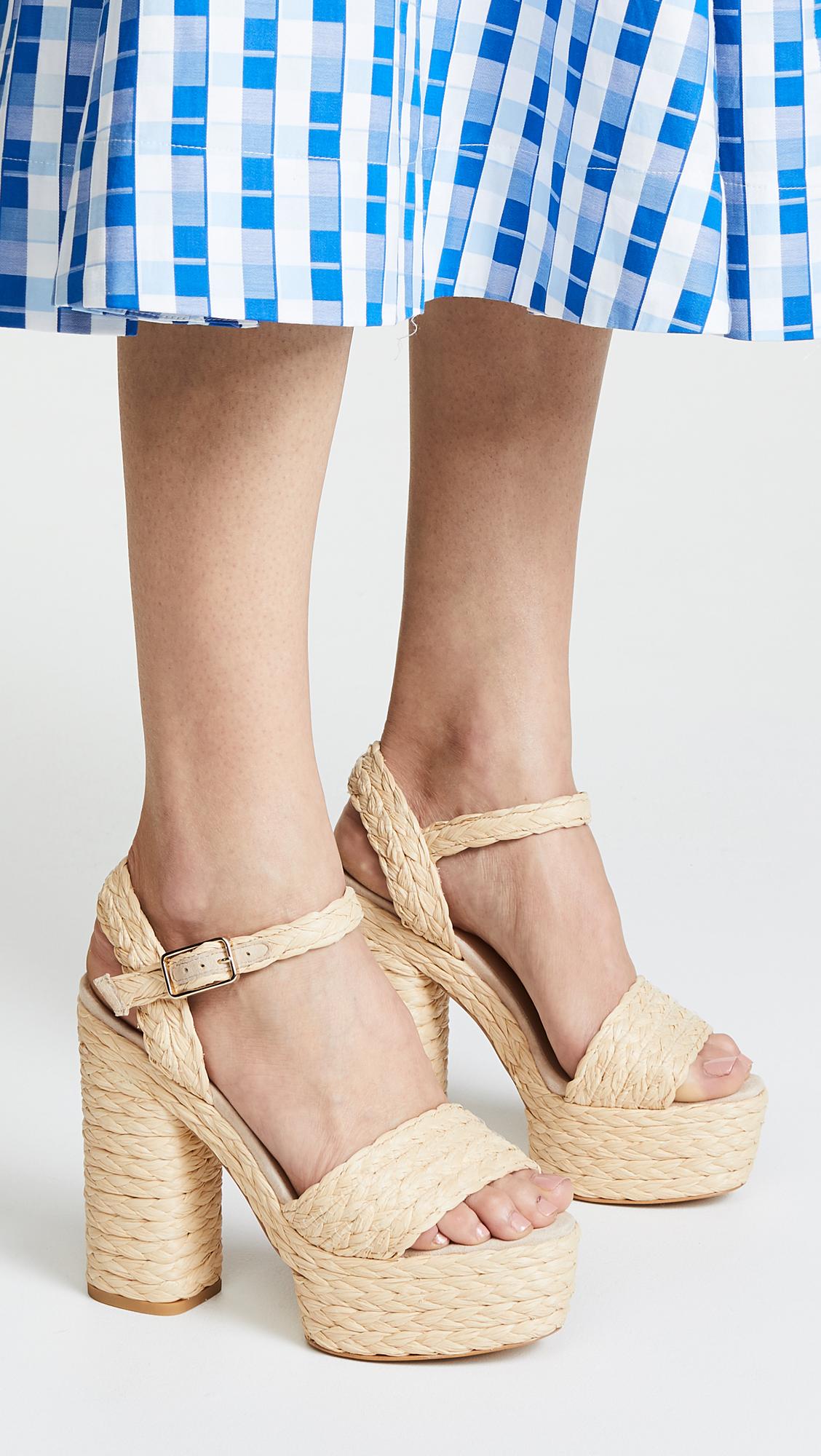 0be7203c806 Castaner Abelia Platform Sandals