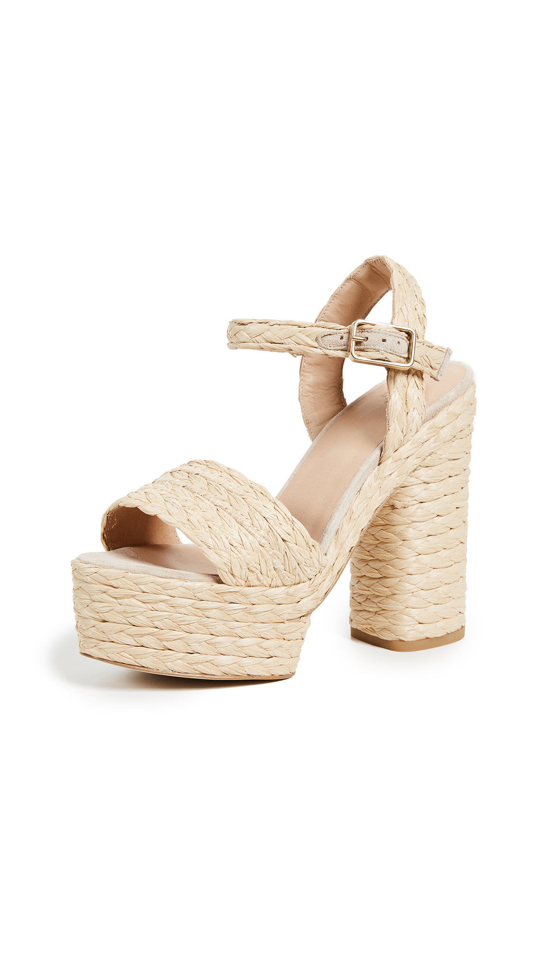 Castaner Abelia Platform Sandals - Beige