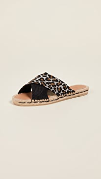 ba9703ad0117 Castaner. Paloma Crisscross Slide Sandals