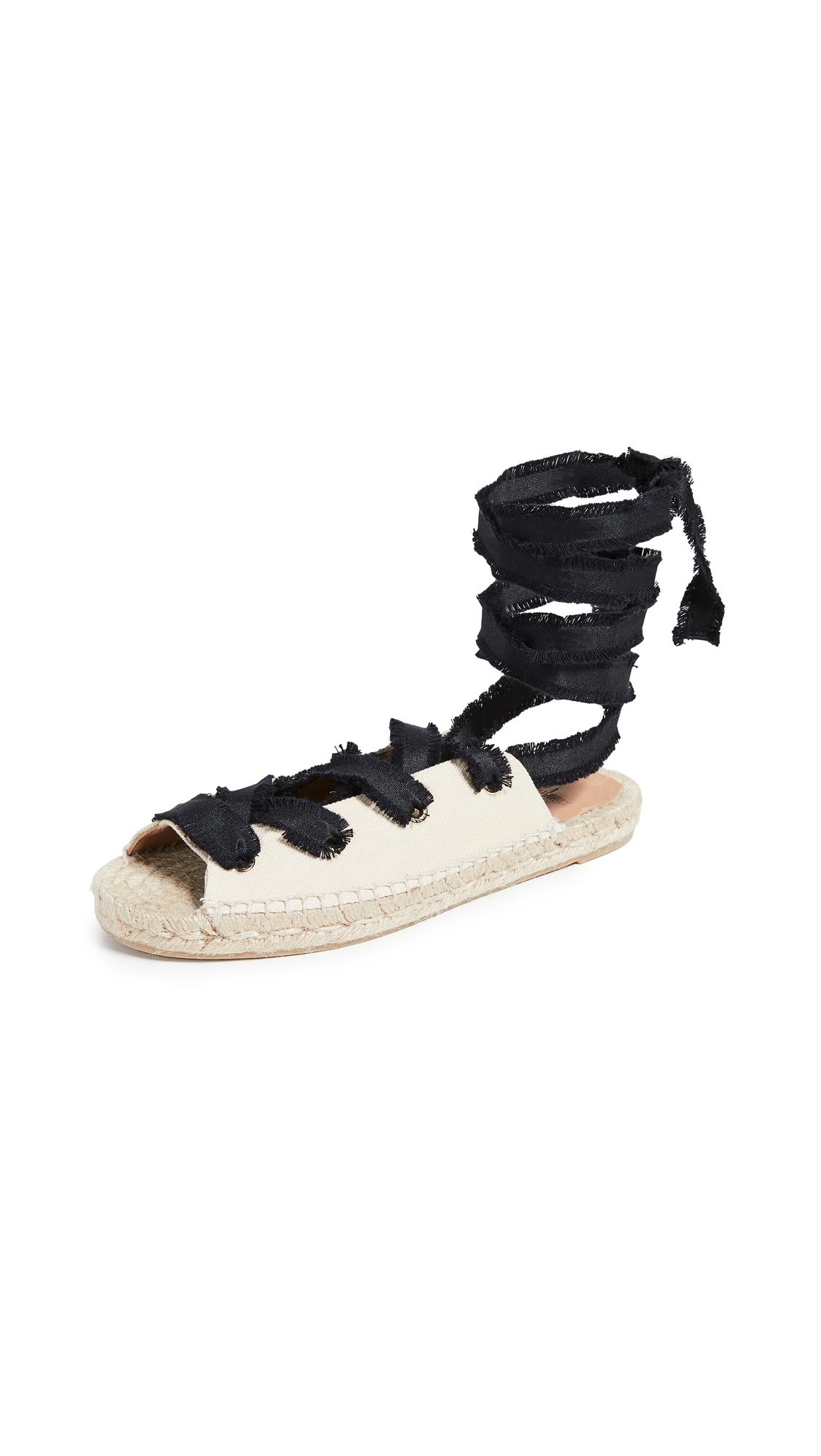 Castaner Pippa Flat Sandals - Ivory