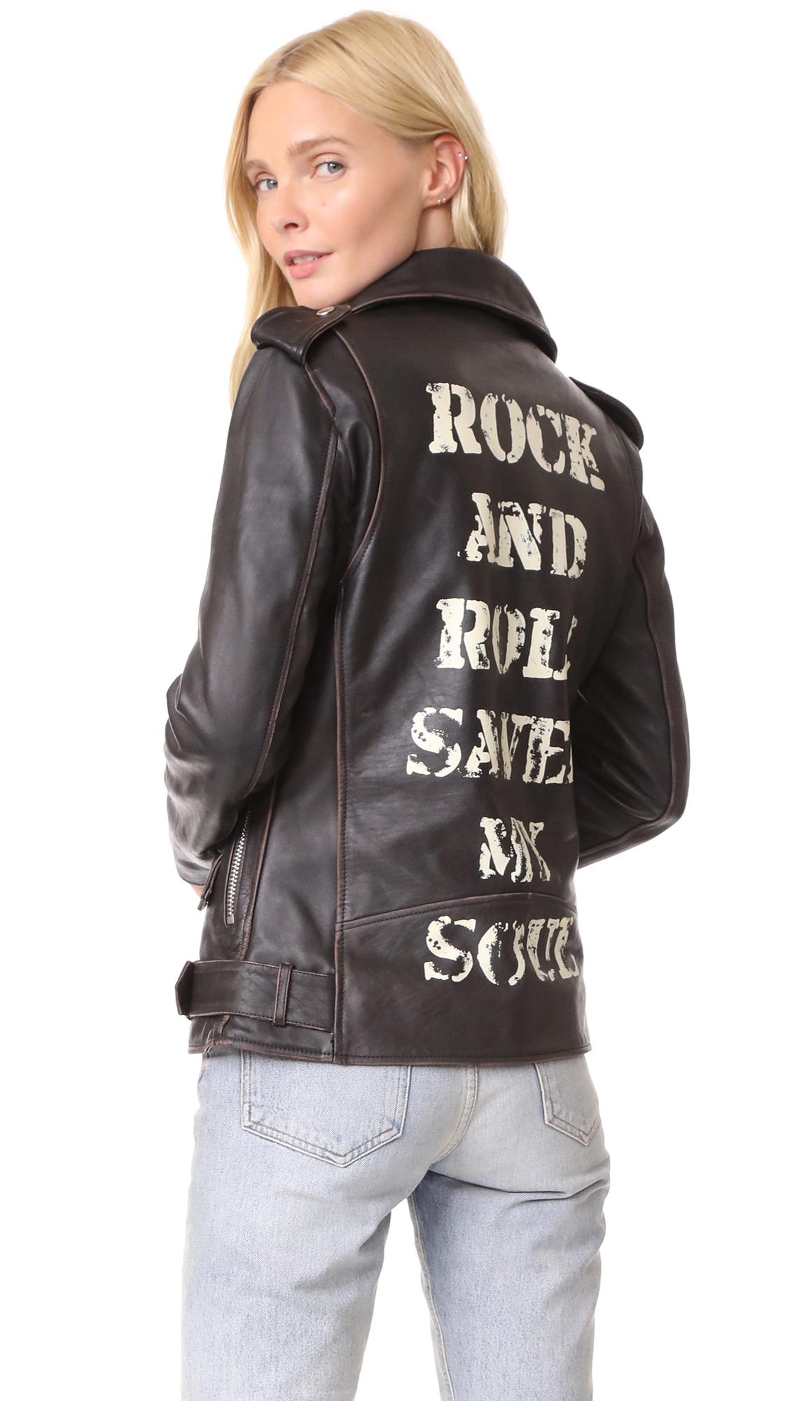 Christian Benner Rock n Roll Back Jacket - Black