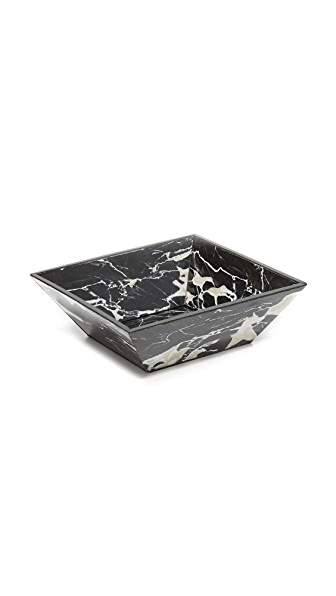 Carla Carstens Noir Marble Acrylic Catchall Dish at Shopbop
