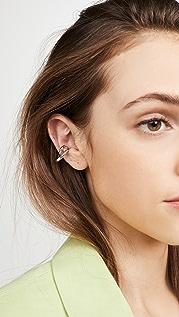 Charlotte Chesnais 首字母耳骨夹