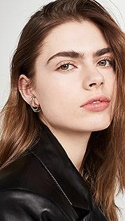 Charlotte Chesnais Blaue 耳环