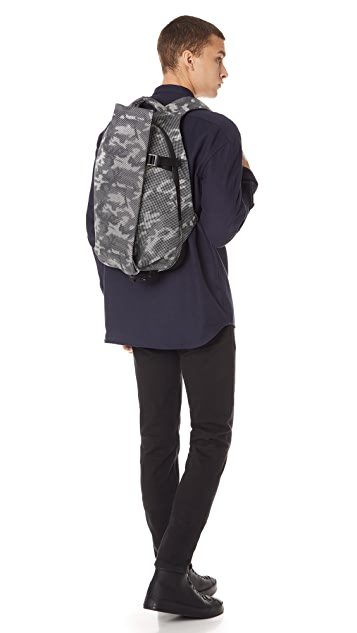 Cote & Ciel Isar Small Camo Backpack