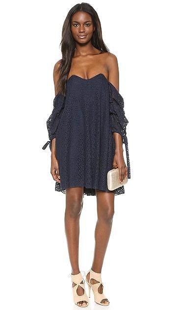 Caroline Constas Gabriella Lace Dress