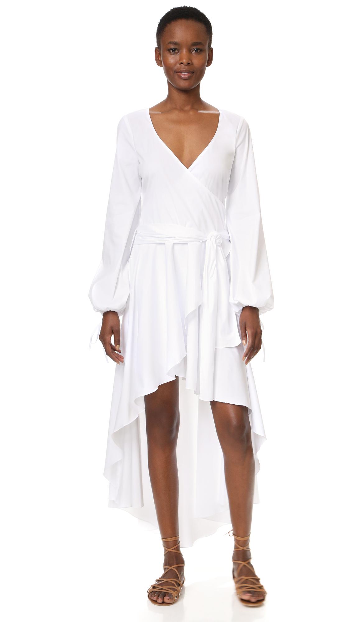 Caroline Constas Lena Dress - White