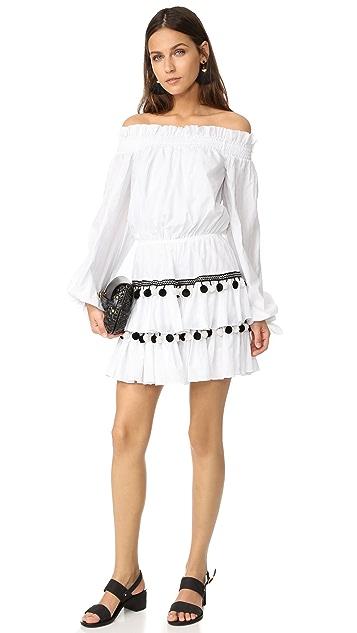Caroline Constas Lou Pom Pom Dress