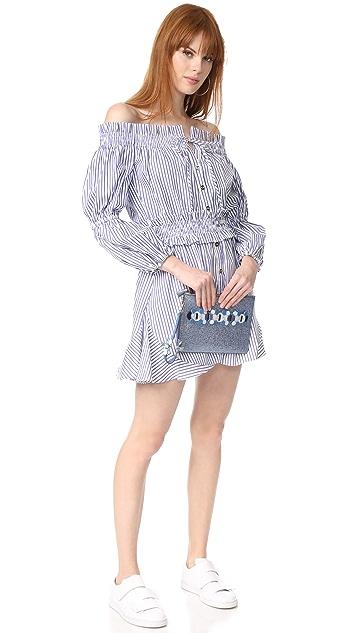 Caroline Constas Платье в деревенском стиле