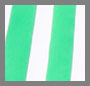 Green/White Stripe
