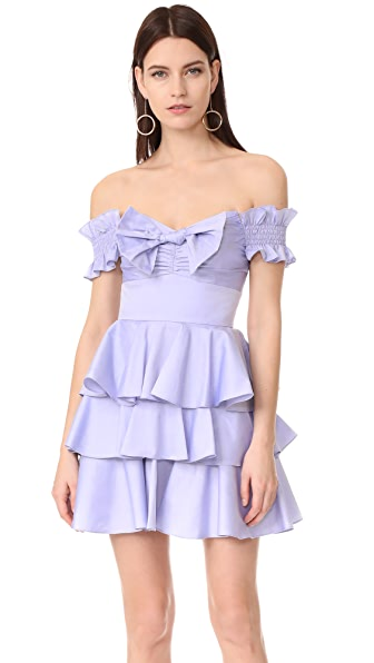 Caroline Constas Helena Chambray Dress at Shopbop
