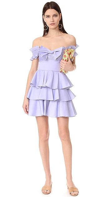 Caroline Constas Helena Chambray Dress