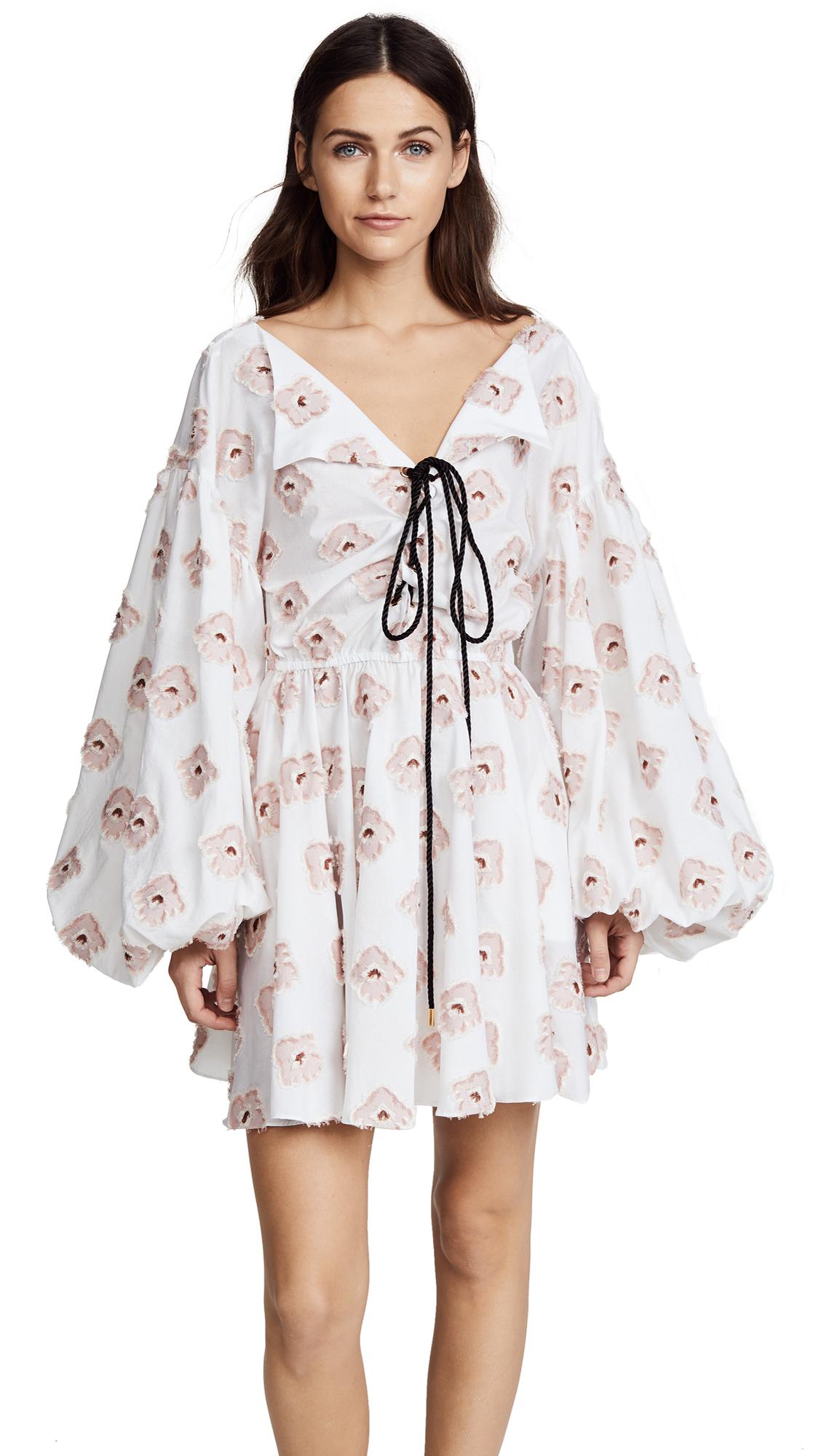Caroline Constas Olympia Dress - Blush