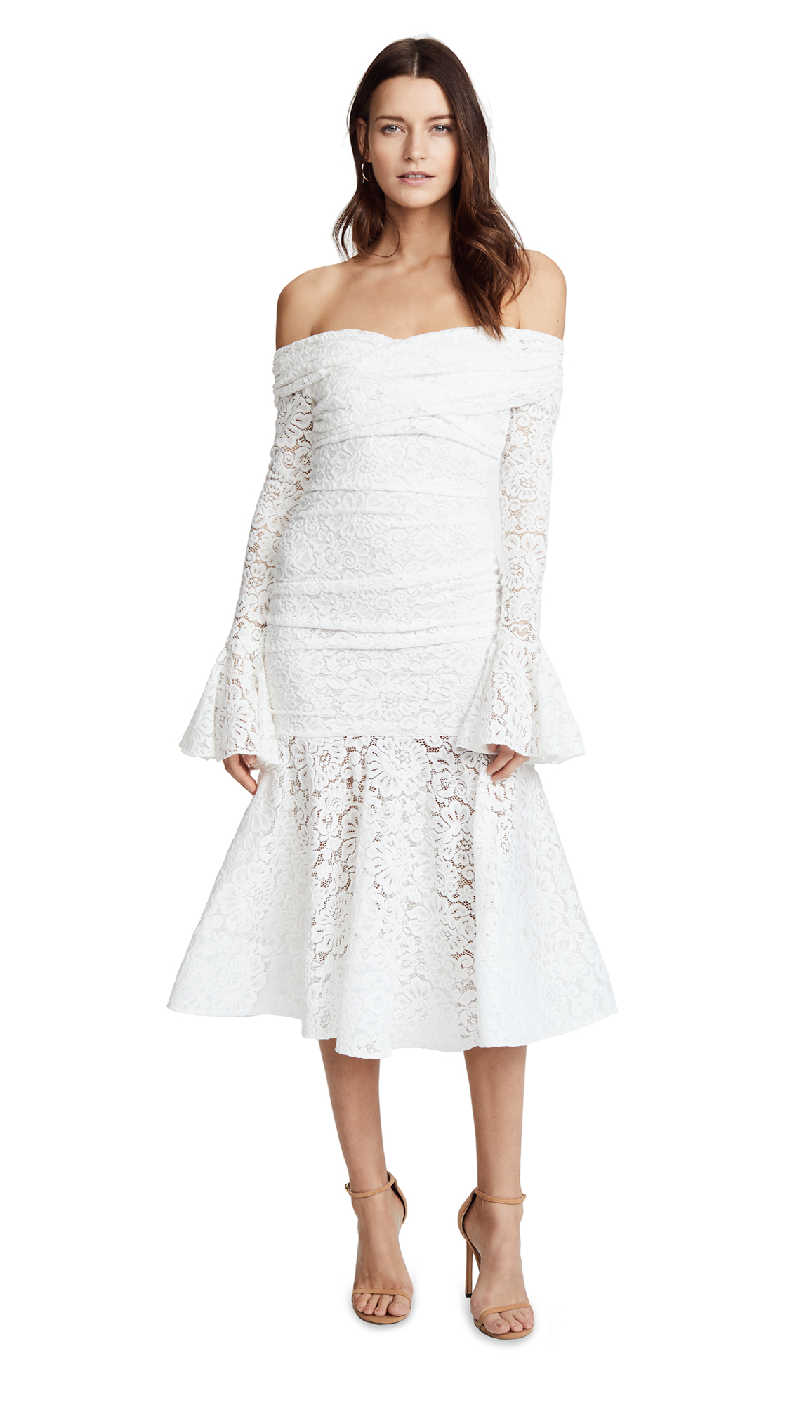 Caroline Constas Leda Dress - White