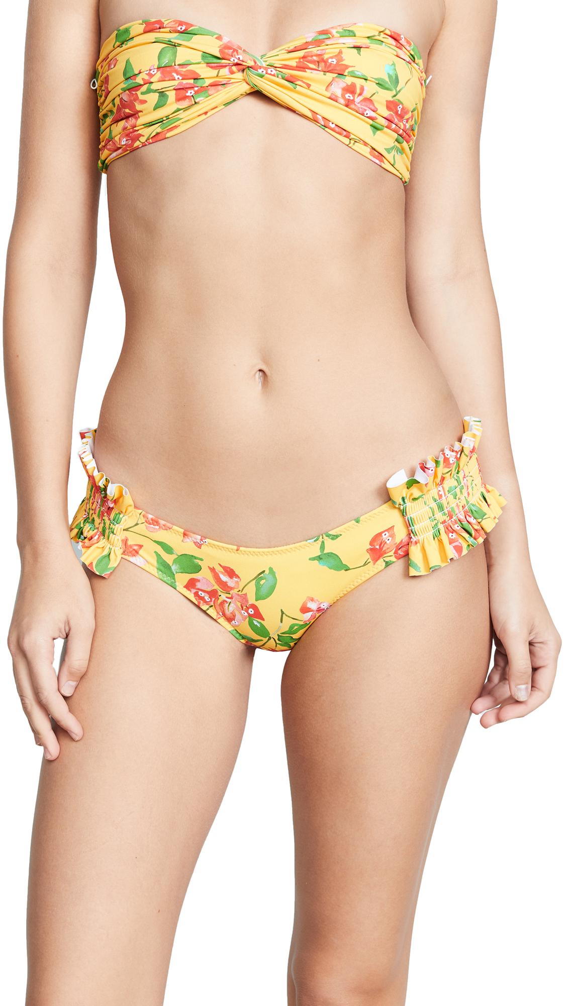 Caroline Constas Mer x Shopbop Andros Swim Bottoms - Yellow