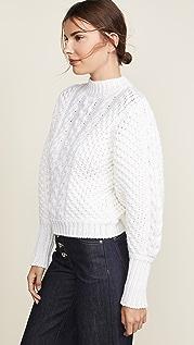 Caroline Constas 粗针织毛衣