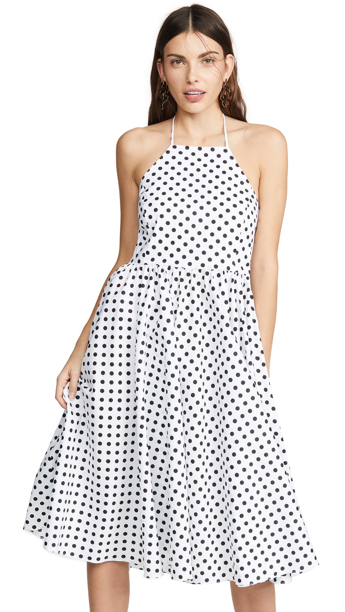 Caroline Constas Gretta Dress - White Multi
