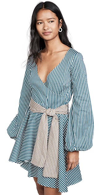 Caroline Constas Mini Lena Dress